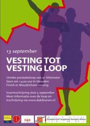 Vestingloop Heusden-Woudrichem 13 sept 2014 (ca. 21 km)
