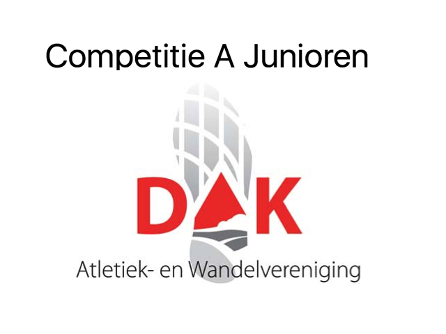 Competitie A Junioren - 7 mei 2017